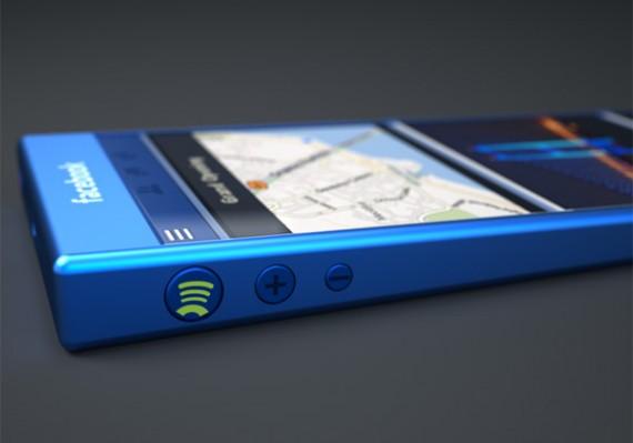 gambar konsep smartphone facebook