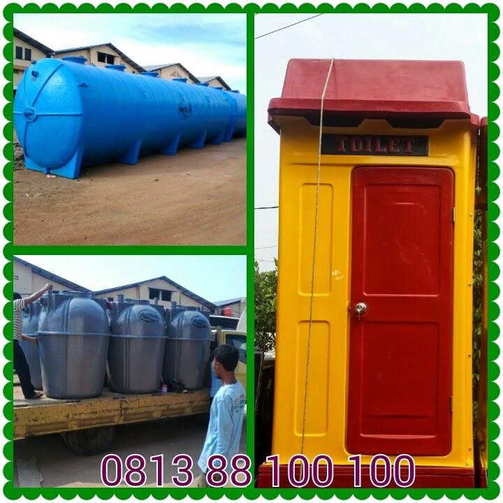 septic tank biotech, ipal biotek, toilet portable fiberglass, biofil, biofive, biogift
