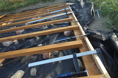 Zkouška bočnice terasy