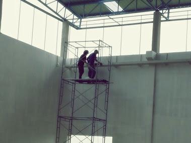 งานเดินรางวางสายไฟ โรงงาน Terinex Siam Co.,Ltd.