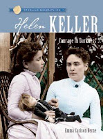 bookcover of HELEN KELLER: COURAGE IN DARKNESS   by Emma Carlson Berne