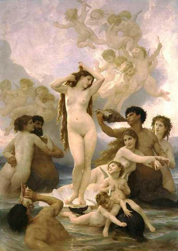 Karya Lukisan William Adolphe Bouguereau