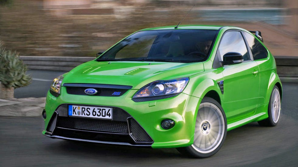 The 2016 Ford Focus RS