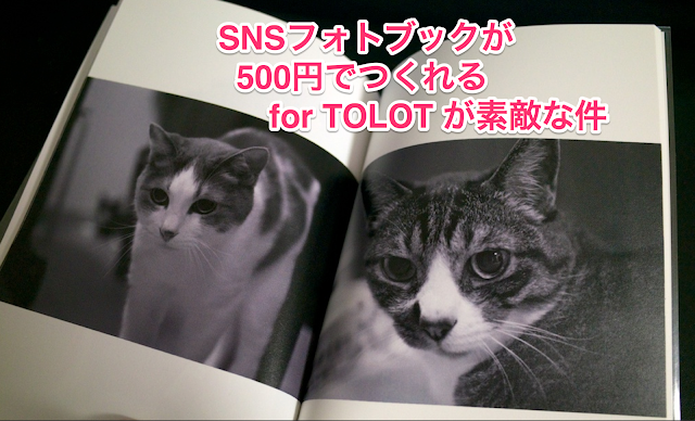 for TOLOT 500yen Photo Album