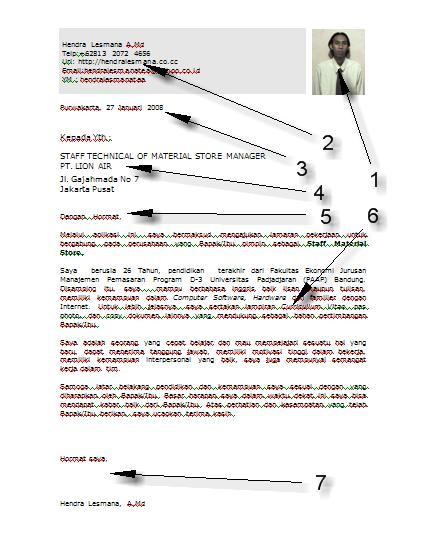 Contoh Surat Lamaran Kerja Yang Baik Dan Benar Terbaru 2013 View Image