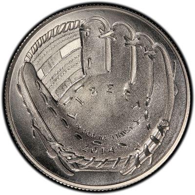 copper-nickel Baseball coin