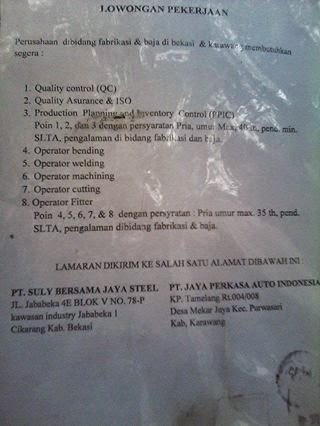 "<img src=""Image URL"" title=""PT. Suly Bersama Jaya Steel"" alt=""PT. Suly Bersama Jaya Steel""/>"