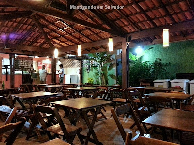 Jardim da Pizza: Ambiente
