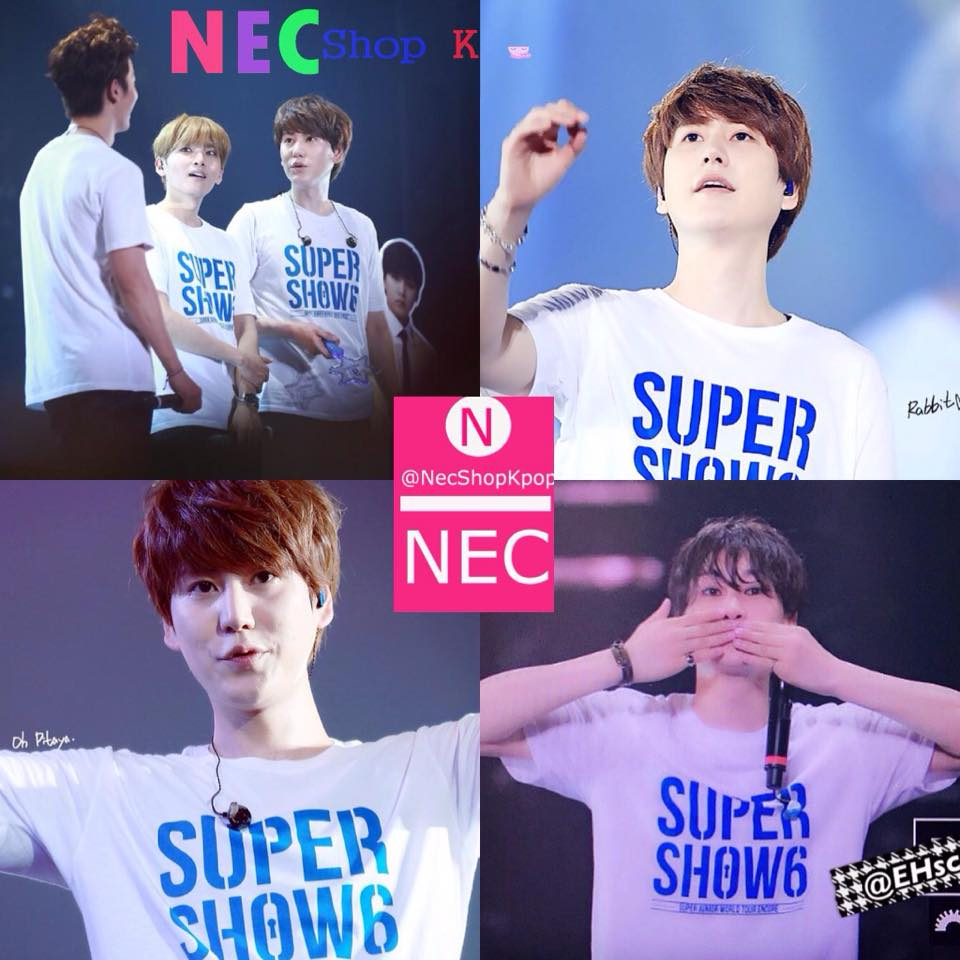 SS6 SUPER JUNIOR ENCORE T-SHIRT
