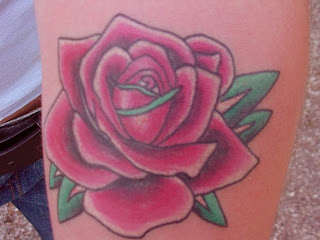 popular rose tattoo