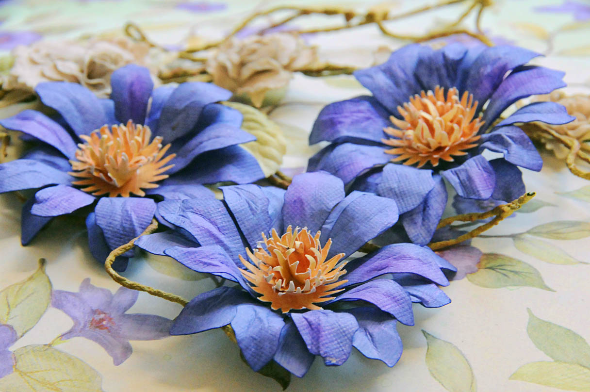 What A Beautiful Mess Purple Passion Flower Tutorial