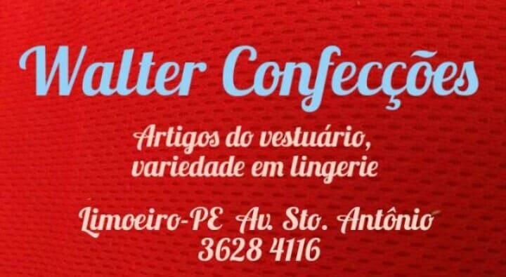 WALTER CONFECÇÕES