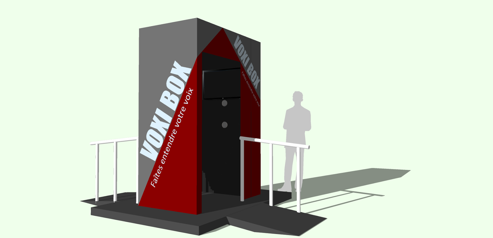 Juko access bureau de conception voxi box for Bureau de conception
