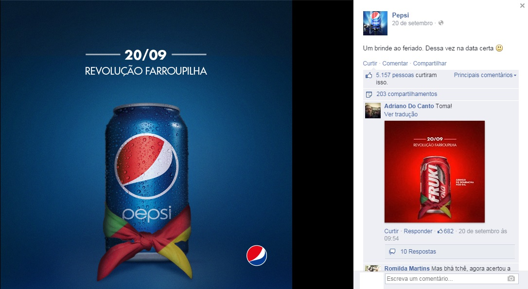 Pepsi x Fruki