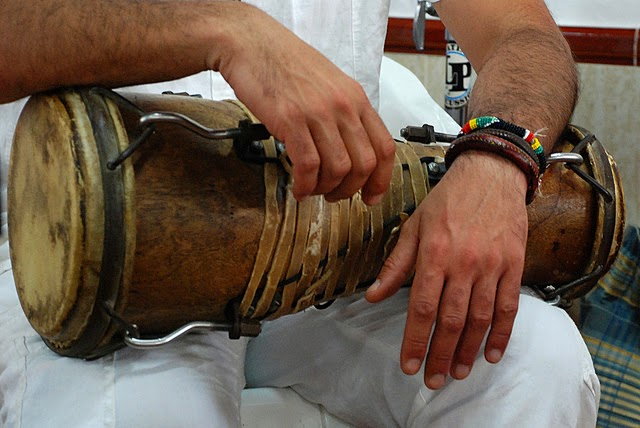 Batá drums are also the iconic symbol and sound of the Santera or Vodun religion Photo by montuno