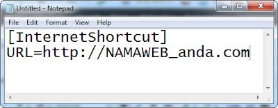 Membuat Internet Shortcut