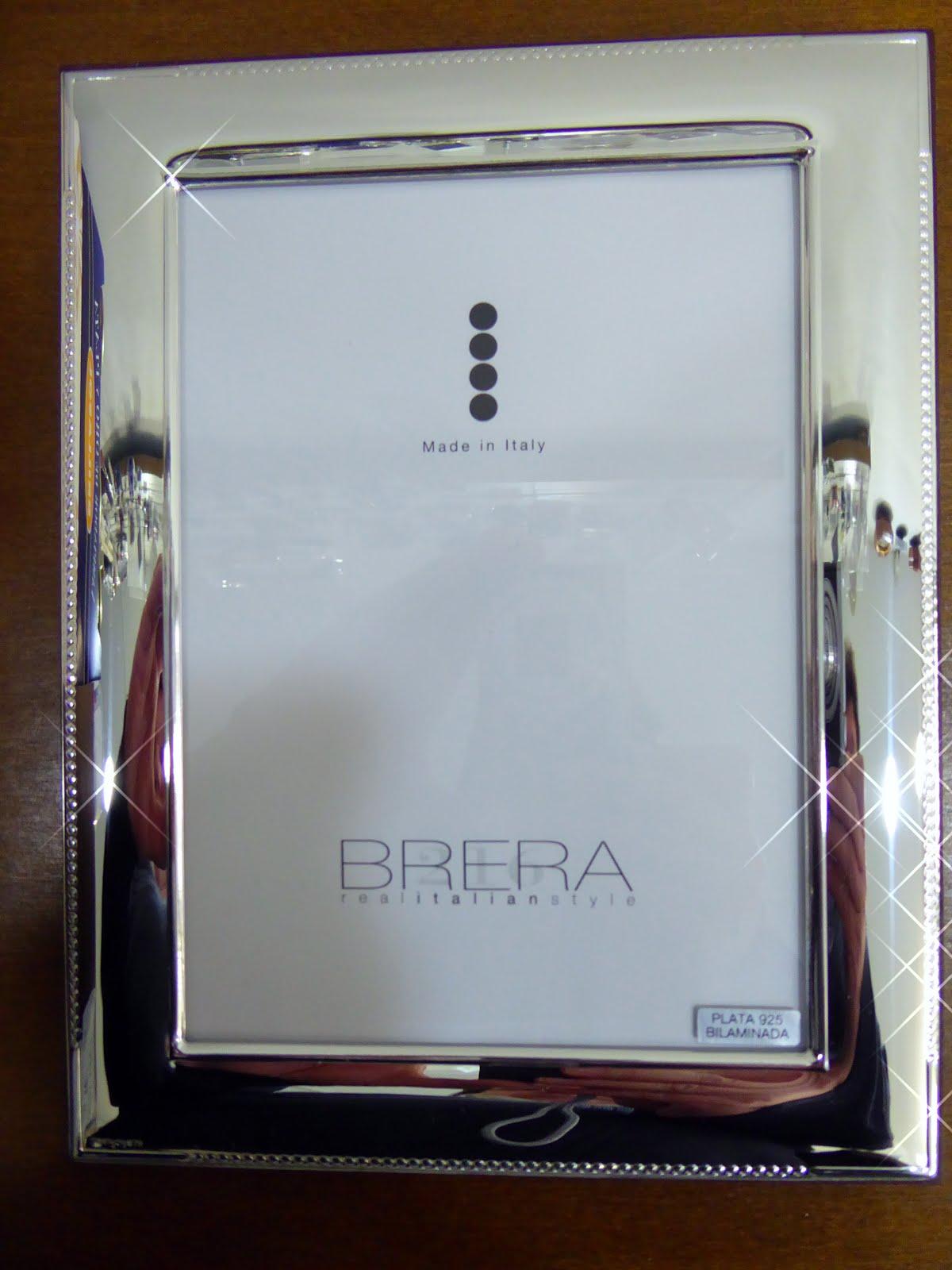 Marcos de plata italianos, marca Brera