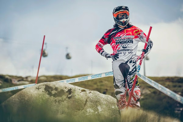 This Is Peaty 2014: UCI World Cup Downhill, Fort William - Helmet Cam Run