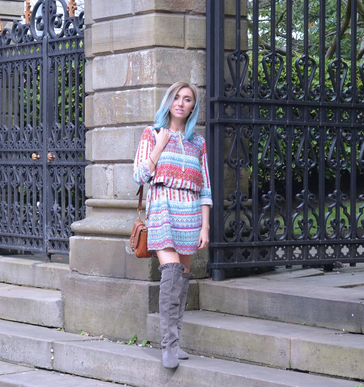 Boho Bonprix Dress on Rock On Holly Blog