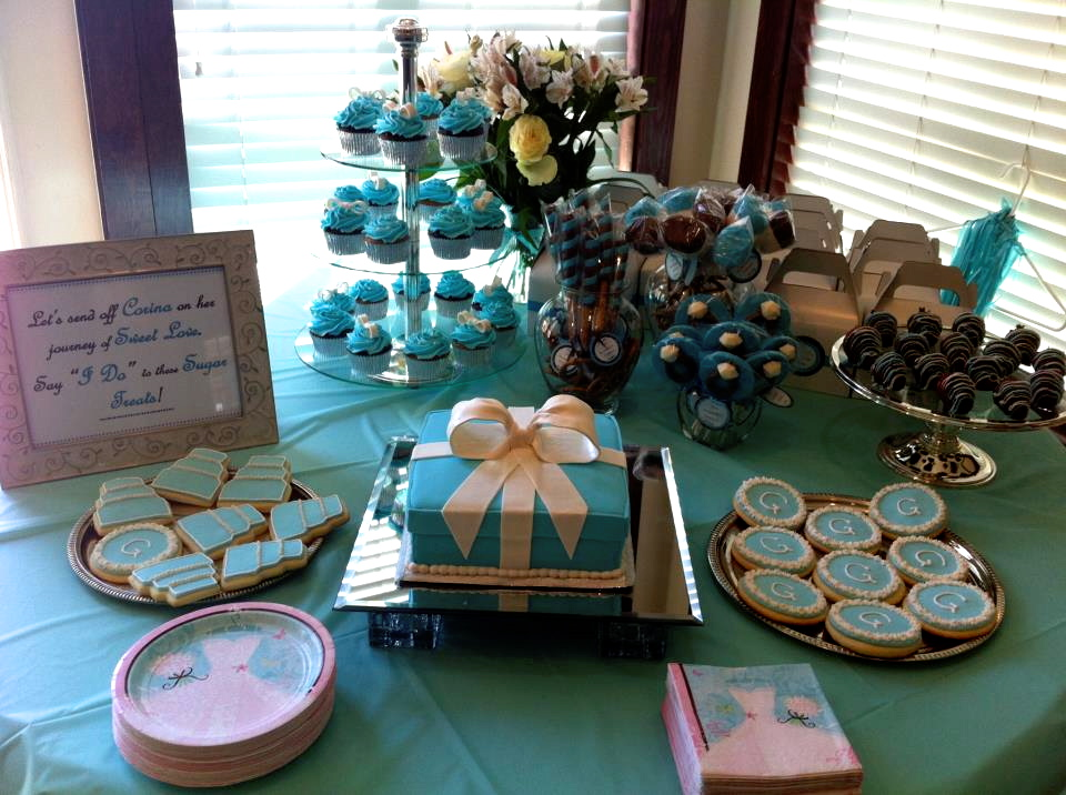 Give Me Some Sugar Tiffany Blue Bridal Shower