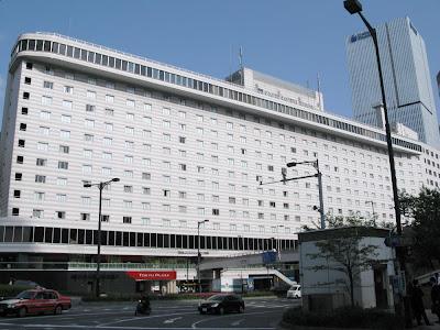 Akasaka Excel Hotel Tokyu viewed from Akasaka side, Tokyo.