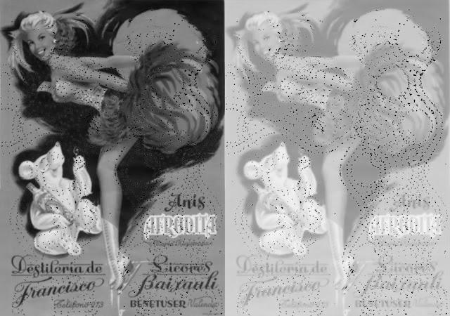 anis, Afrodita, años 50, coleccion  efimera, museo Valenciano de etnologia, trepa