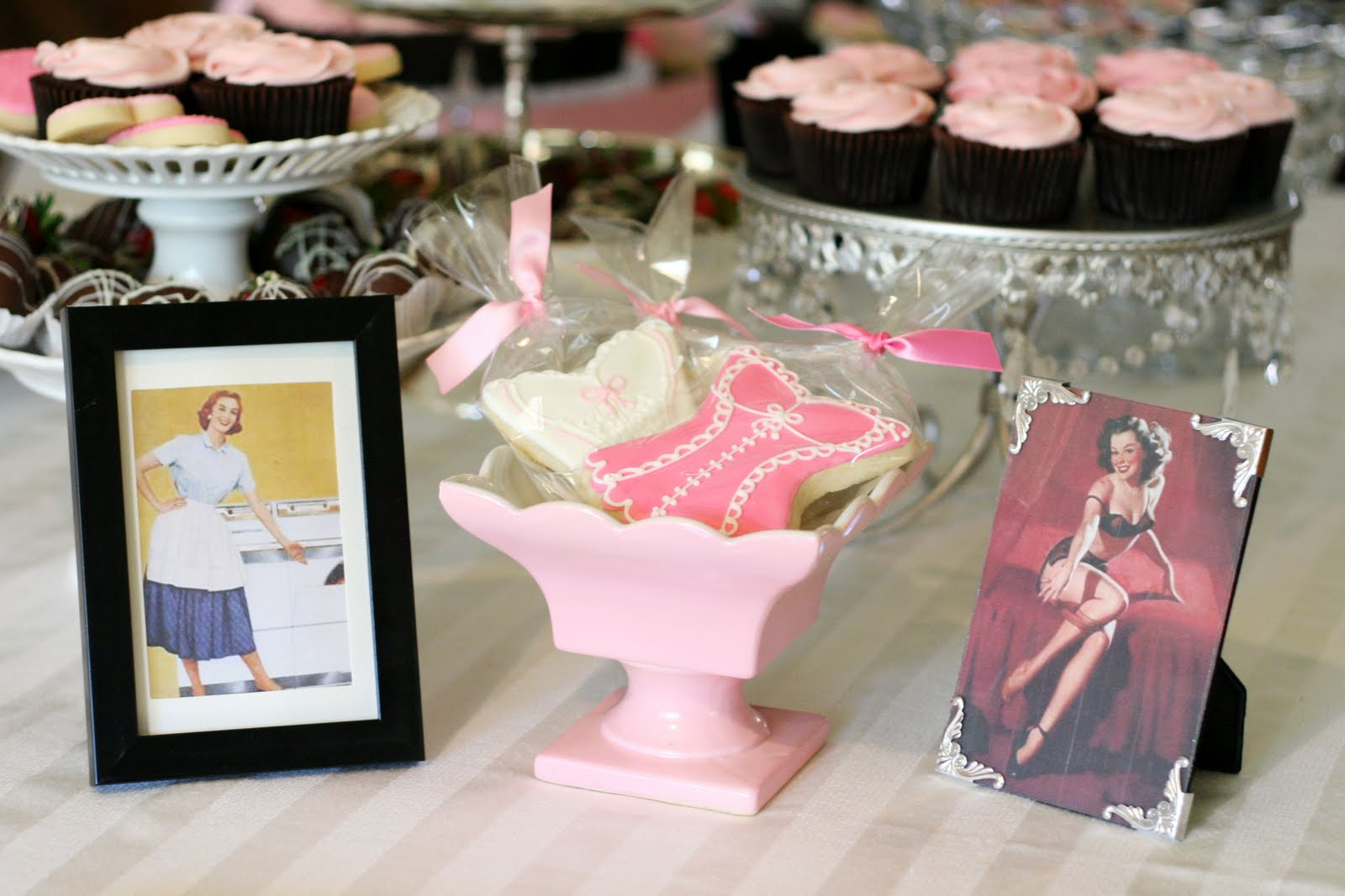 Sexy bridal shower ideas