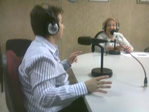 """Entrevista en el Programa Radio  Rubí  """"Rubí al Día"""""""