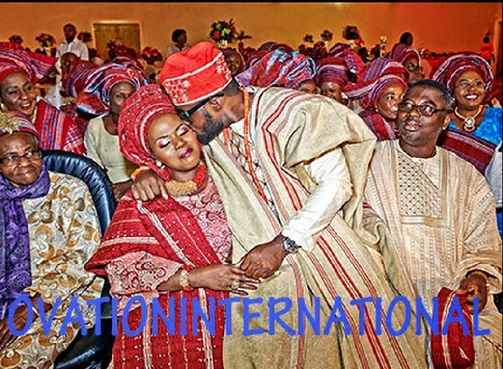 pastor ashimolowos son tobi traditional wedding photo