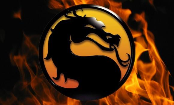 mortal kombat logo. mortal kombat logo 2011.