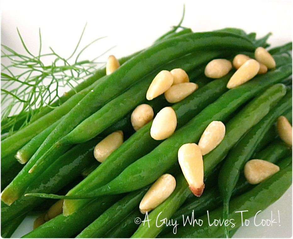 Guy Who Loves to Cook!: Sweet and Crunchy Sautéed Haricots Verts