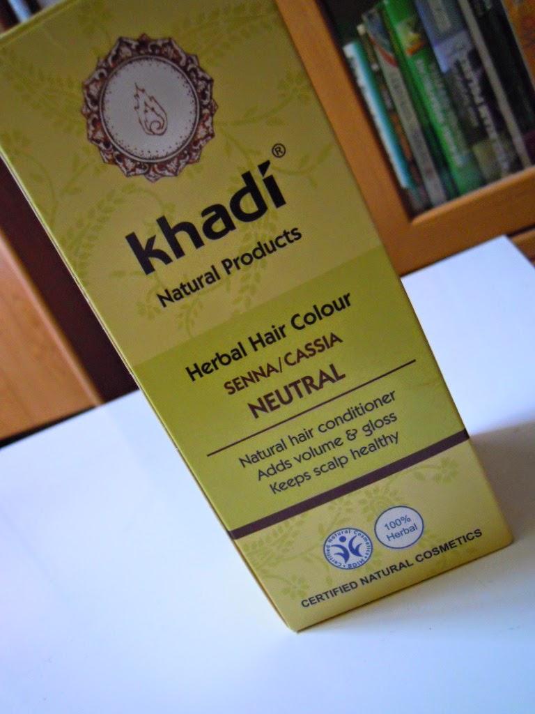 Henna Khadi Cassia na moich ciemnych włosach - recenzja
