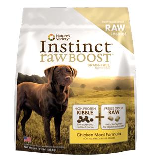 Free Instinct Raw Boost Dog Food Sample from Nature's Variety