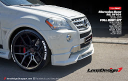 Mercedes-Benz ML W164 Body Kit