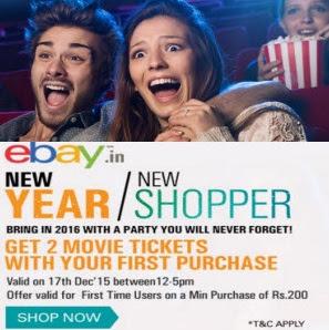 ebay ebaymovie2 free movie tickets