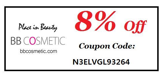 Zniżka 8% w BB Cosmetic: