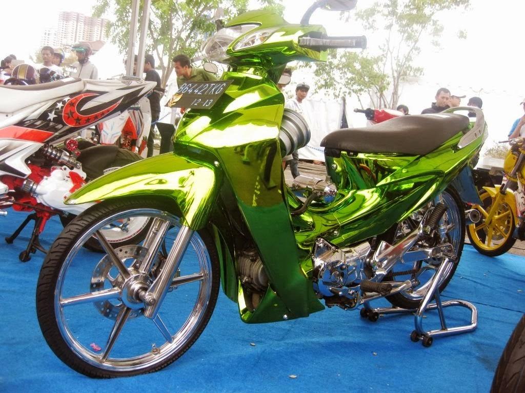 Foto Gambar Modifikasi Honda Kharisma Terbaru