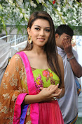 Hansika Motwani Photos at Durga movie launch-thumbnail-19