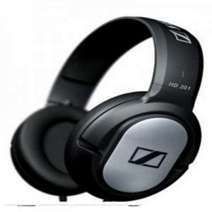 Snapdeal : Sennheiser HD201 Lightweight Binaural Over-Ear Headphone at 849