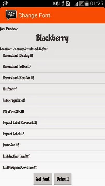 BBM Mod MIUI 2.8.0.21 Orange Theme