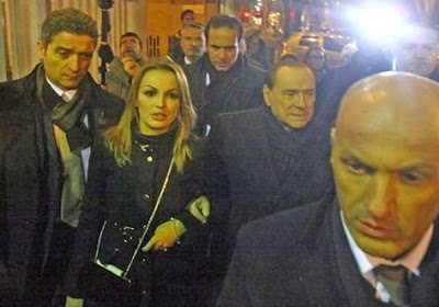 Silvio Berlusconi and girlfriend Francesca Pascale