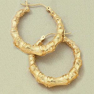 Bamboo Earring Large3