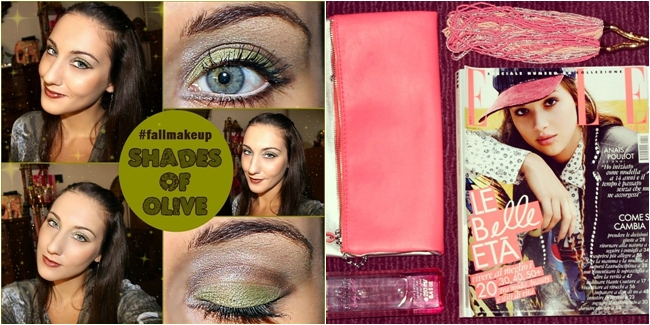 Instagram @lelazivanovic. Sahdes od Loive, makeup video tutorial by Jelena Zivanovic. Elle Italy November 2014.
