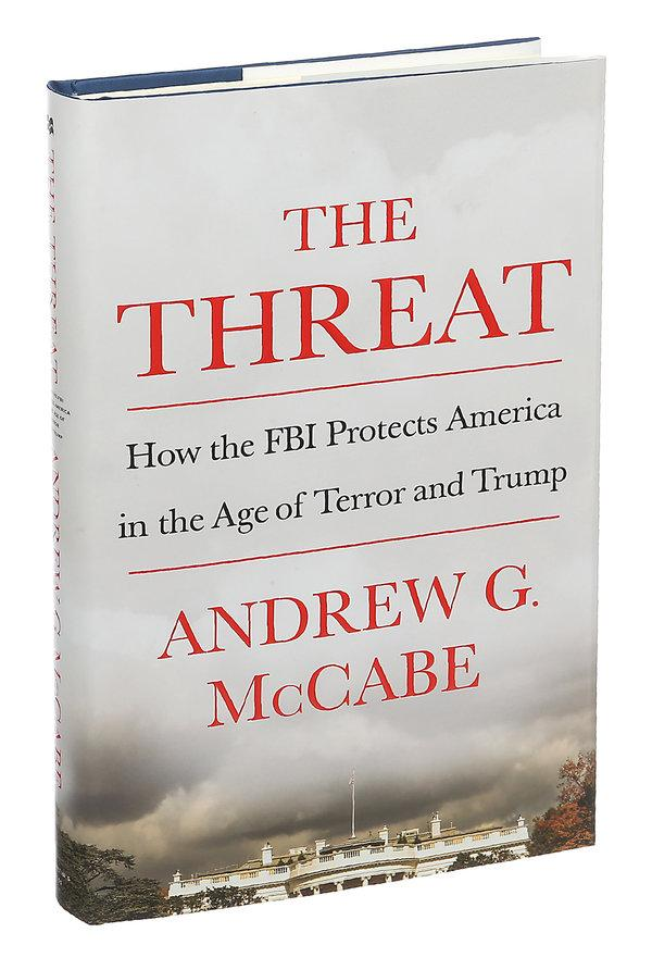 ANDREW MCCABE'S BOOK, THREAT.