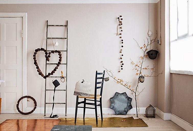 Petitecandela blog de decoraci n diy dise o y muchas for Decoracion navidena rustica