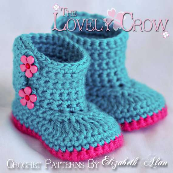 Crocheted Boots Pattern8