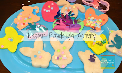 Easter Playdough Play- Fun and Easy Kid Activity