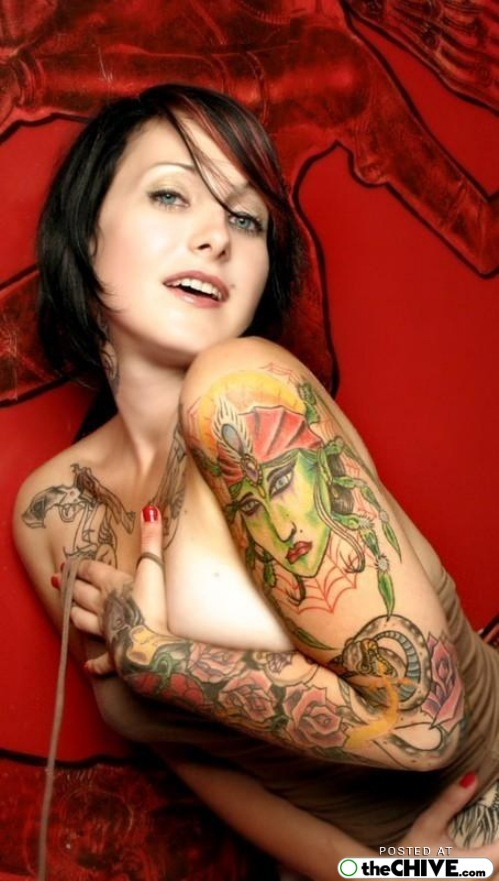 Types of tattoos in the world hot tattoos on women for Hot tattoo chics
