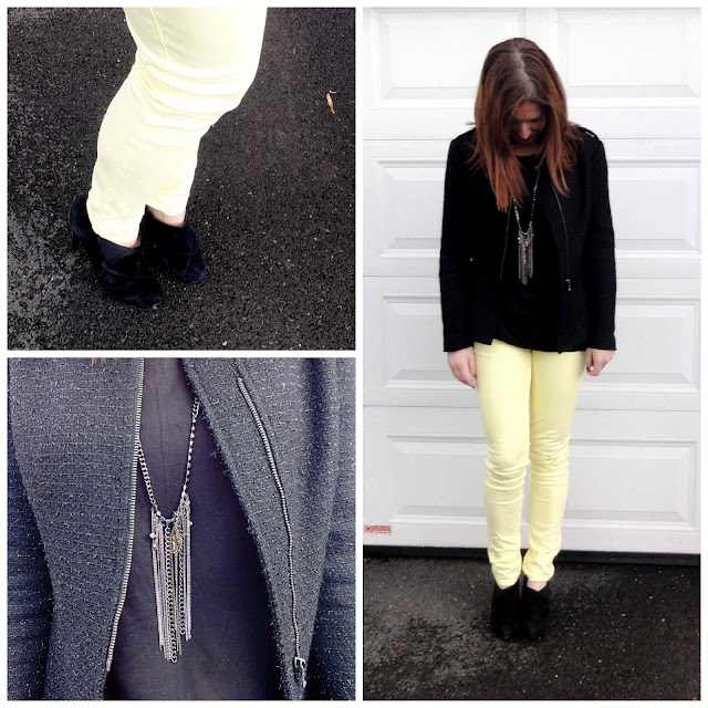 BWD5+Collage Yellow Jeans from Black White Denim   6 Different Ways