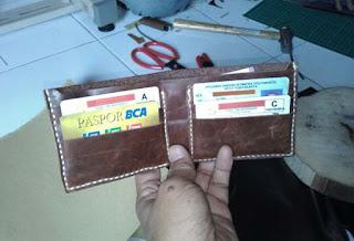 belajar membuat dompet handmade